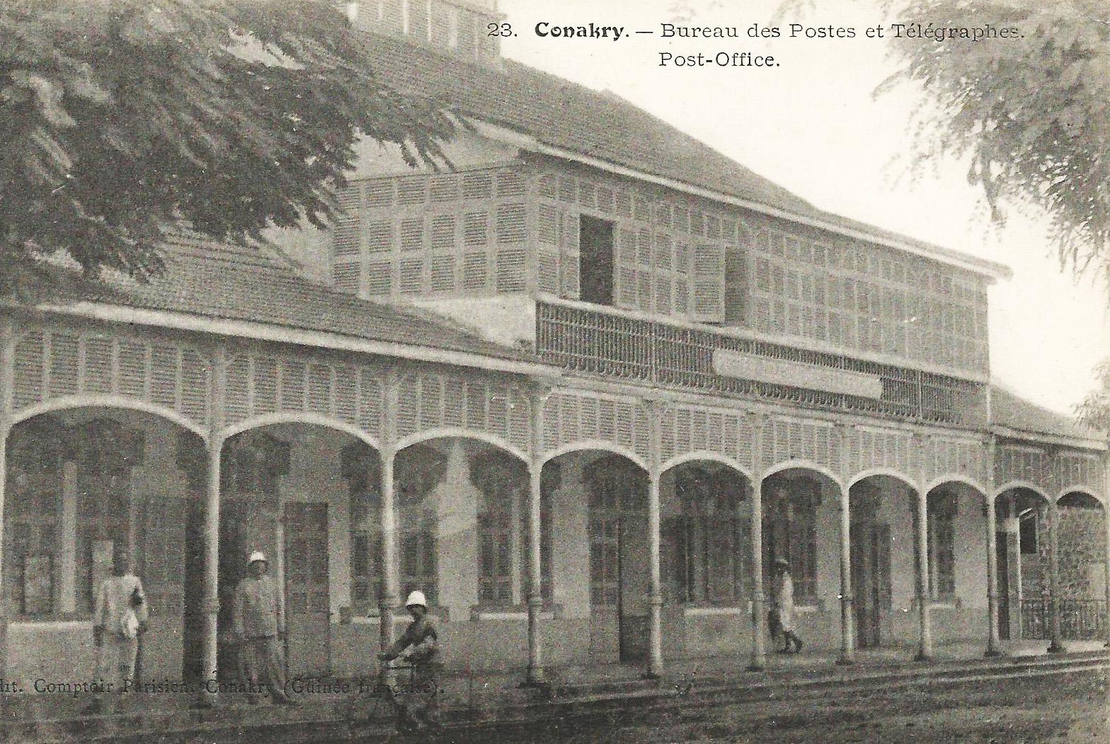 File:conakry bureau des postes et télégraphes.jpg wikimedia commons