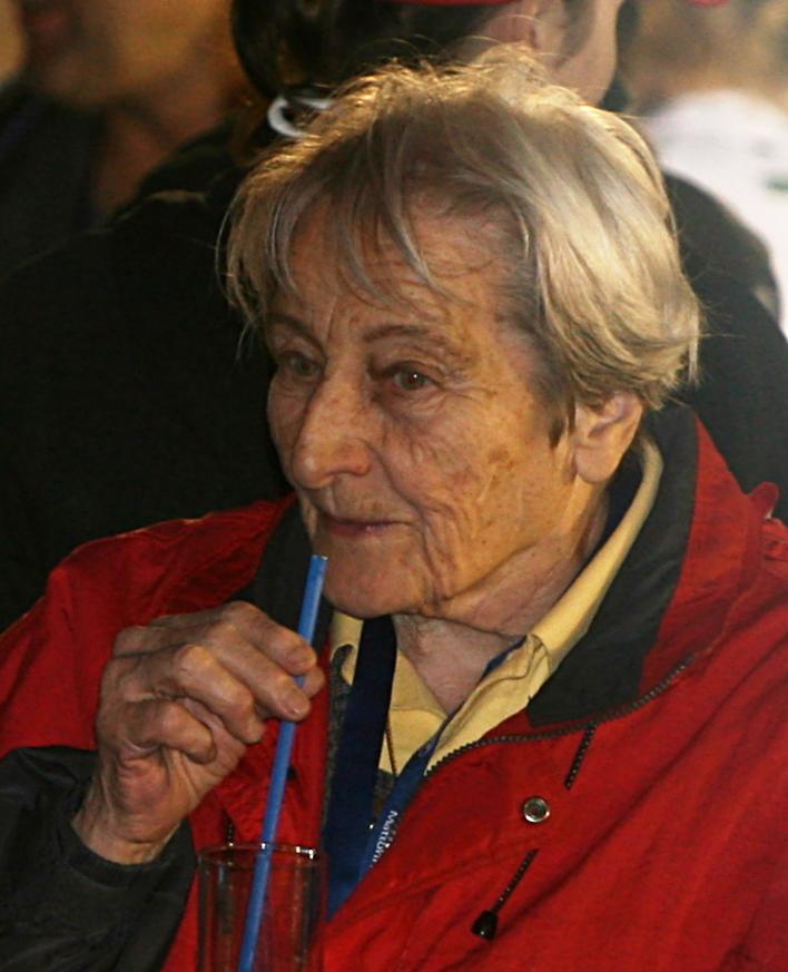 Zátopková in 2007