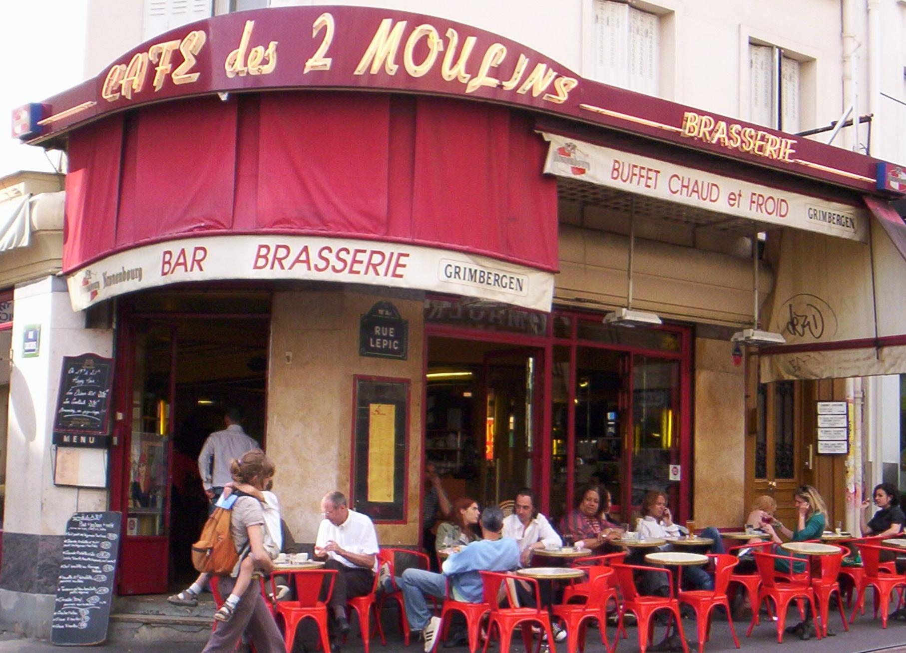 Cafe Deux Moulins Paris