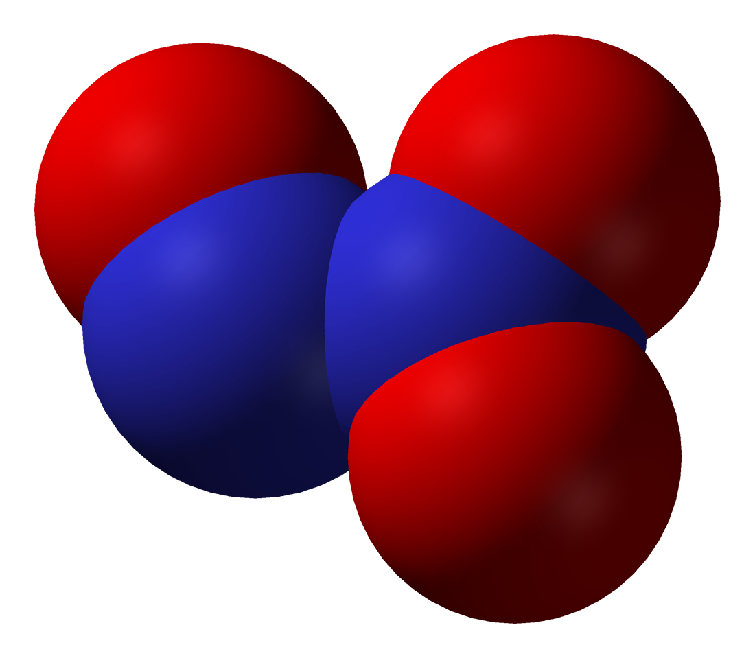 N2o3 Molecular Geometry Dinitrogen trioxide - wikipedia, the free ...