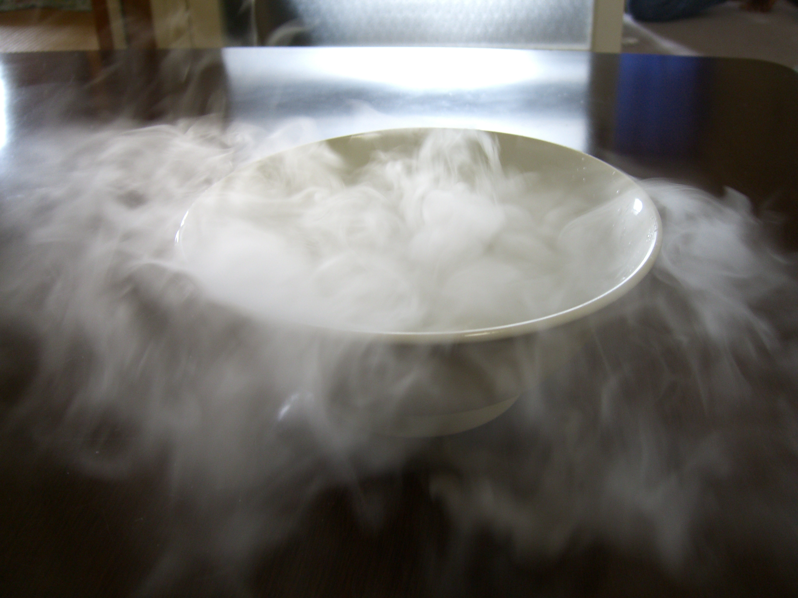 how to create dry ice