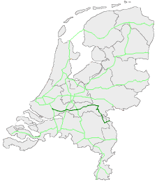 Route in Nederland
