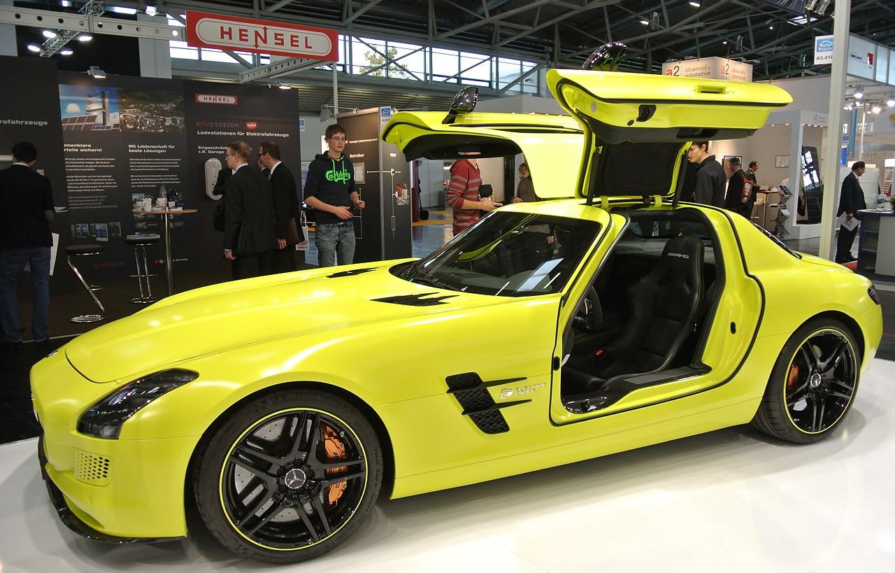 Mercedes Sls Electric Sports Car