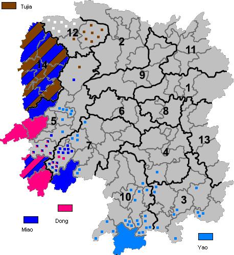 Ethnic minorities areas in Hunan.png