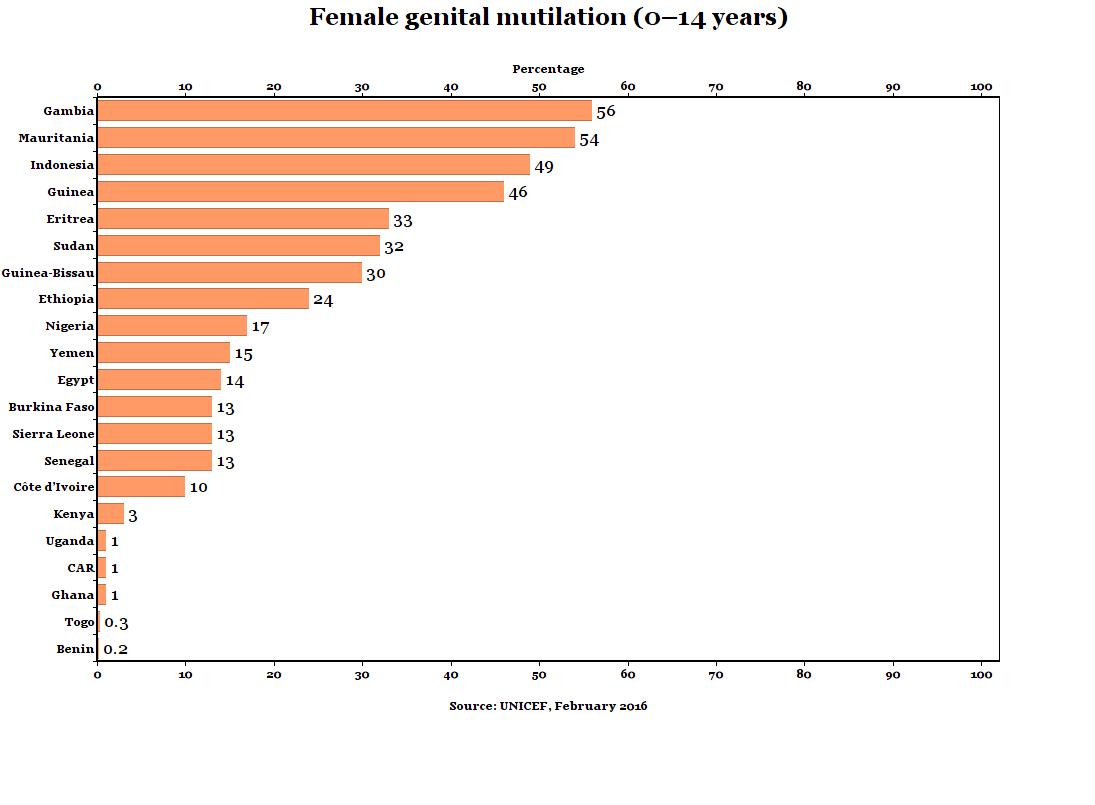 study into the prevalence of fgm in nigeria Female genital mutilation (fgm) prevalence of fgm it is estimated that more than 200 million girls and women alive today have undergone female genital mutilation in the countries where the practice is concentrated.
