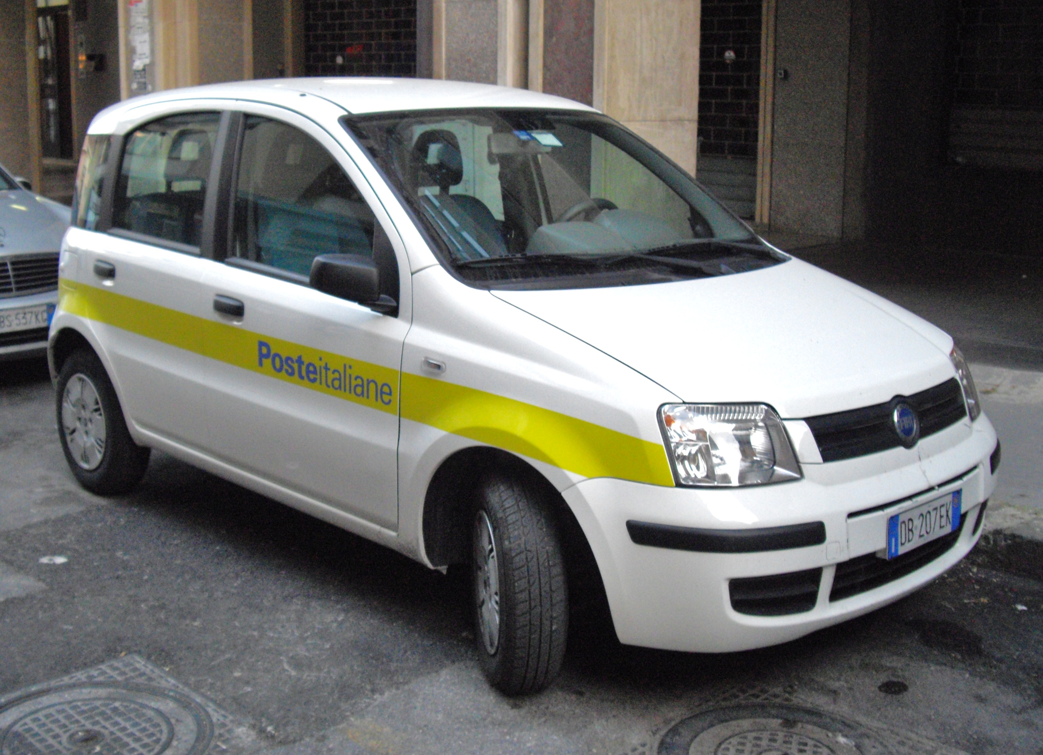 File fiat panda poste italiane front jpg wikimedia commons for Poste italiane