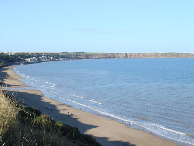 Filey Bay from Primrose Valley - geograph.org.uk - 1503780