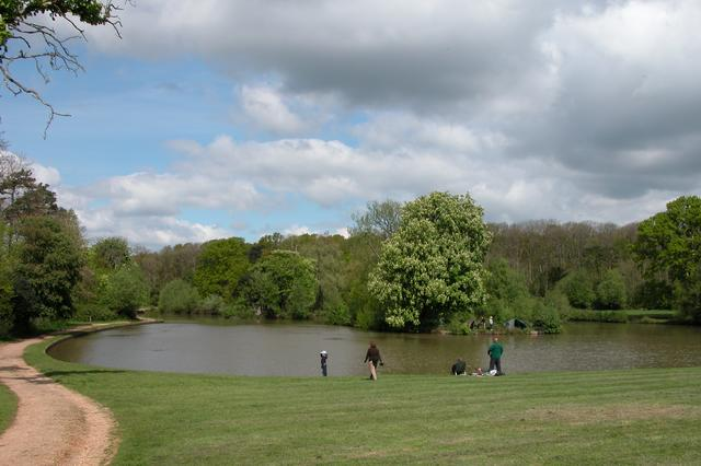 Fishing in Staunton Country Park - geograph.org.uk - 8170