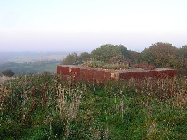 Former Blockhouse, Highden Hill - geograph.org.uk - 1003359