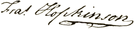 Francis Hopkinson Signature