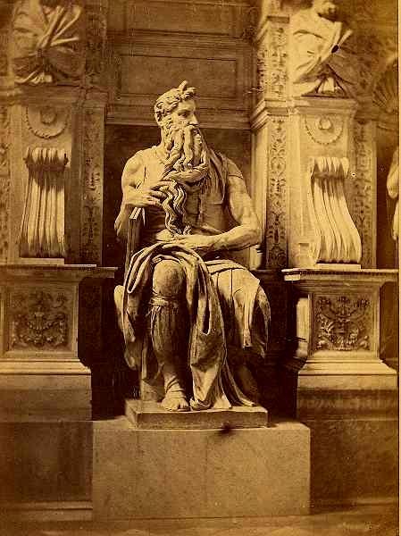 Michelangelo Buonarroti Fratelli_D'Alessandri_-_Mosè_di_Michelangelo