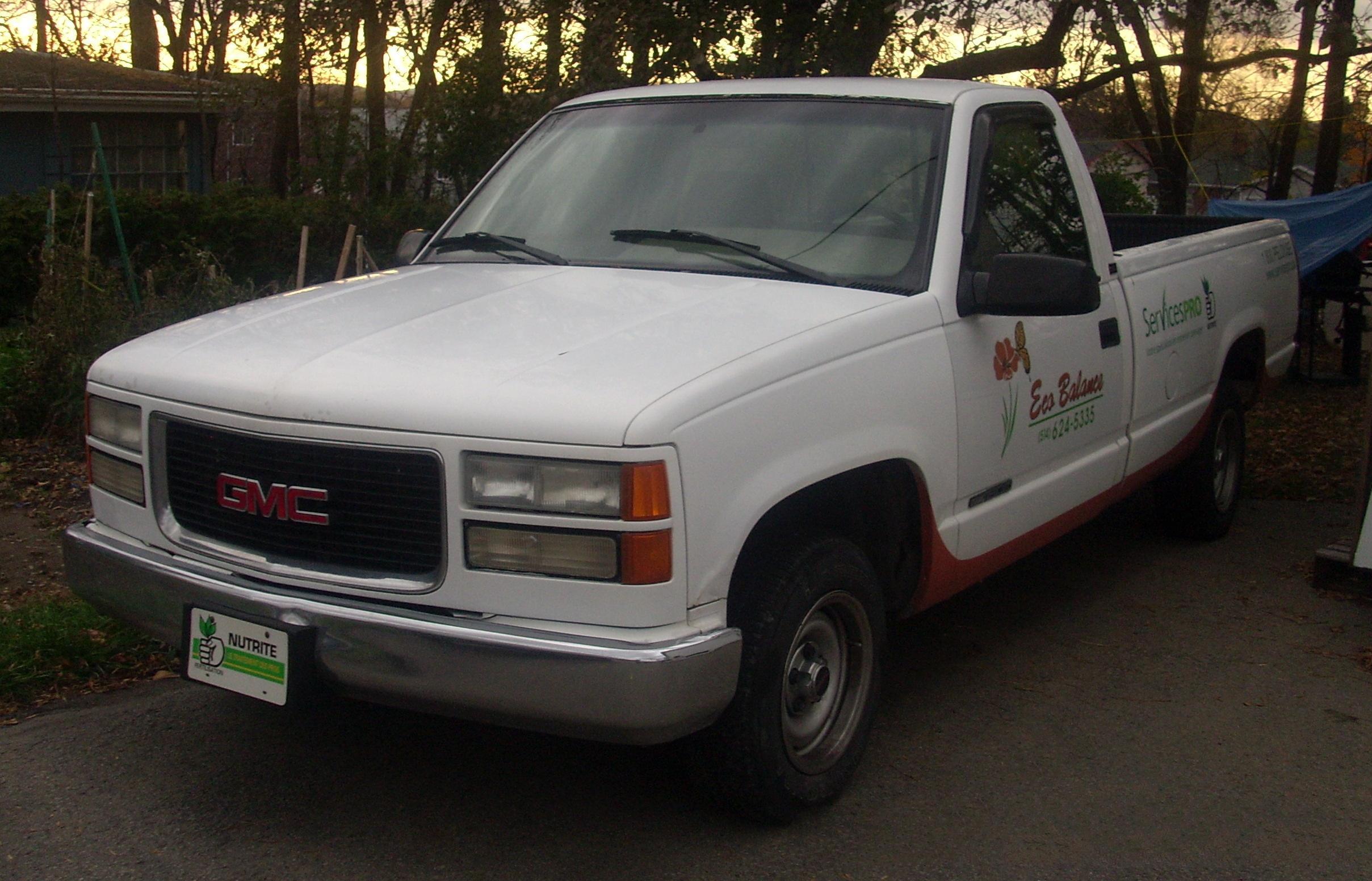 File Gmc C K Sierra 1500 Regular Cab Gmt400 Jpg Wikimedia Commons