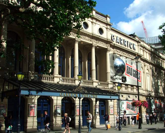london theatre, garrick theatre