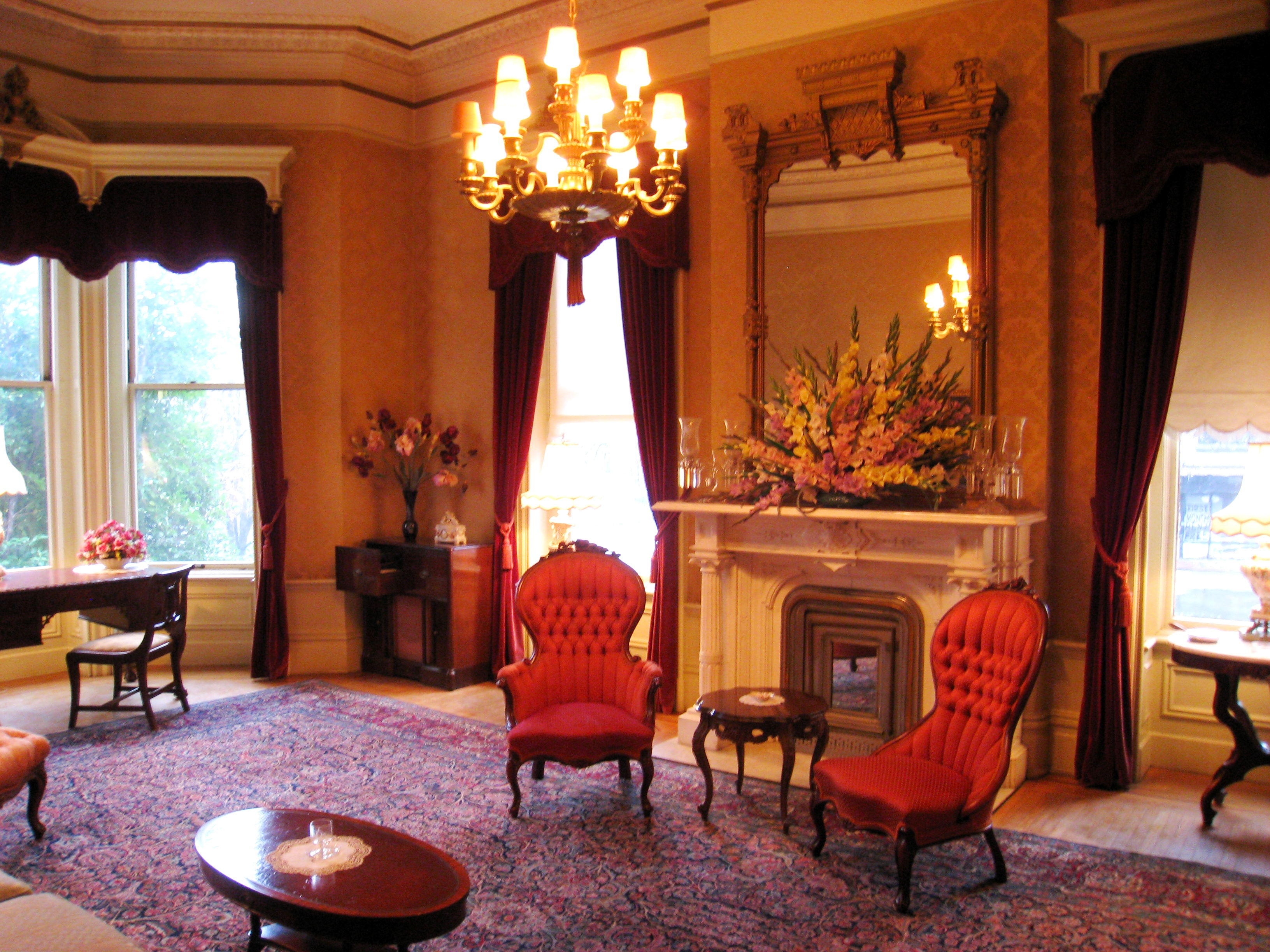 Decorating Historic Homes File Governor S Mansion State Historic Park Formal
