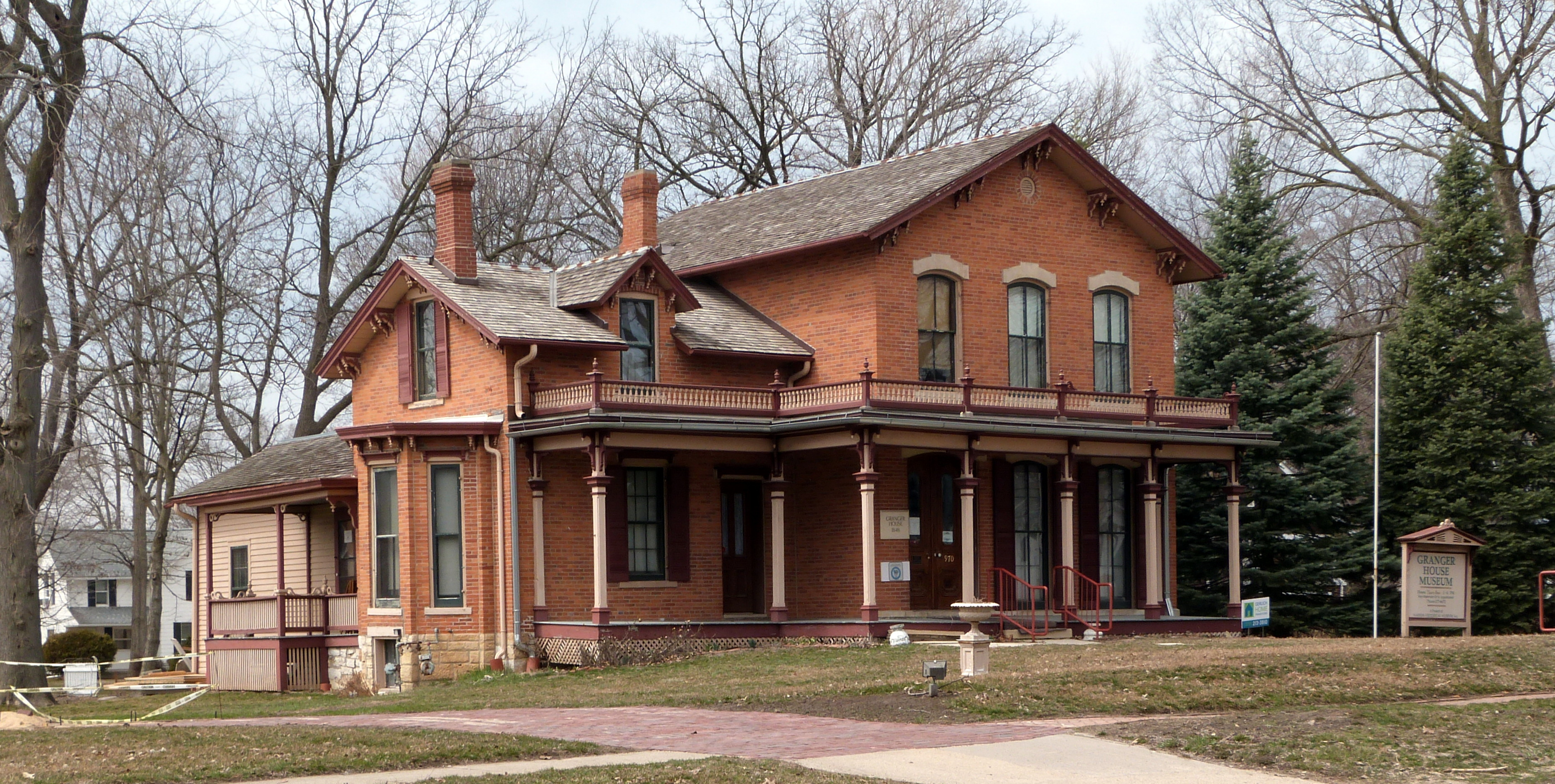 File granger house marion wikimedia commons for Picture of house
