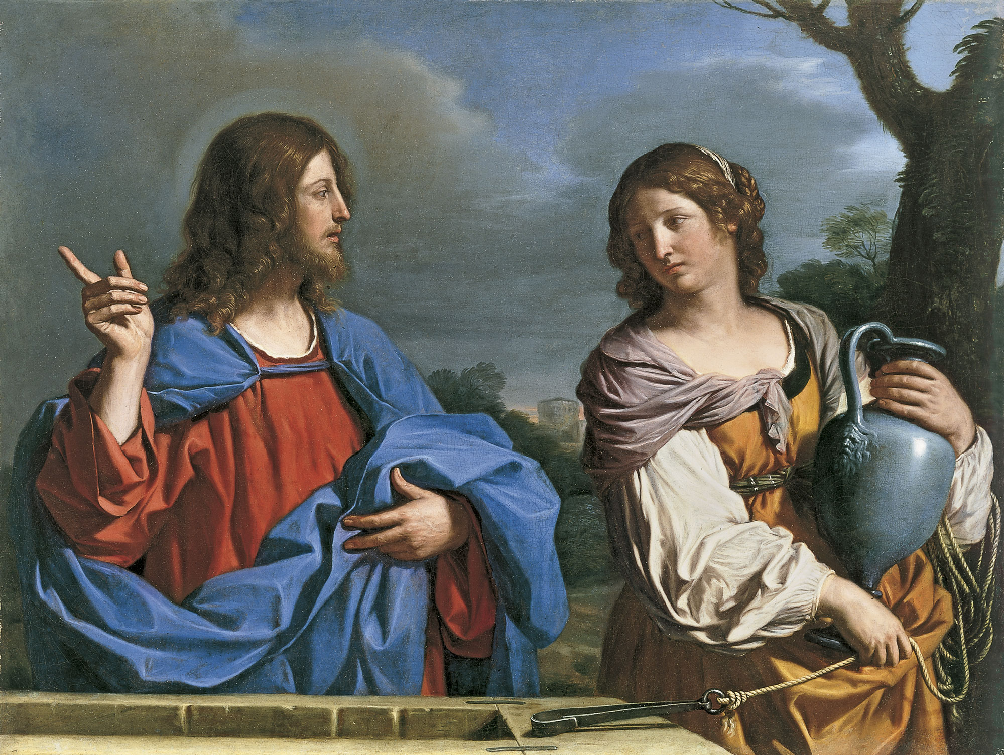 https://upload.wikimedia.org/wikipedia/commons/8/89/Guercino_Christ_et_la_samaritaine.jpg