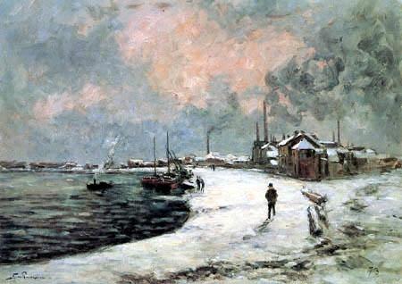La neige à Ivry