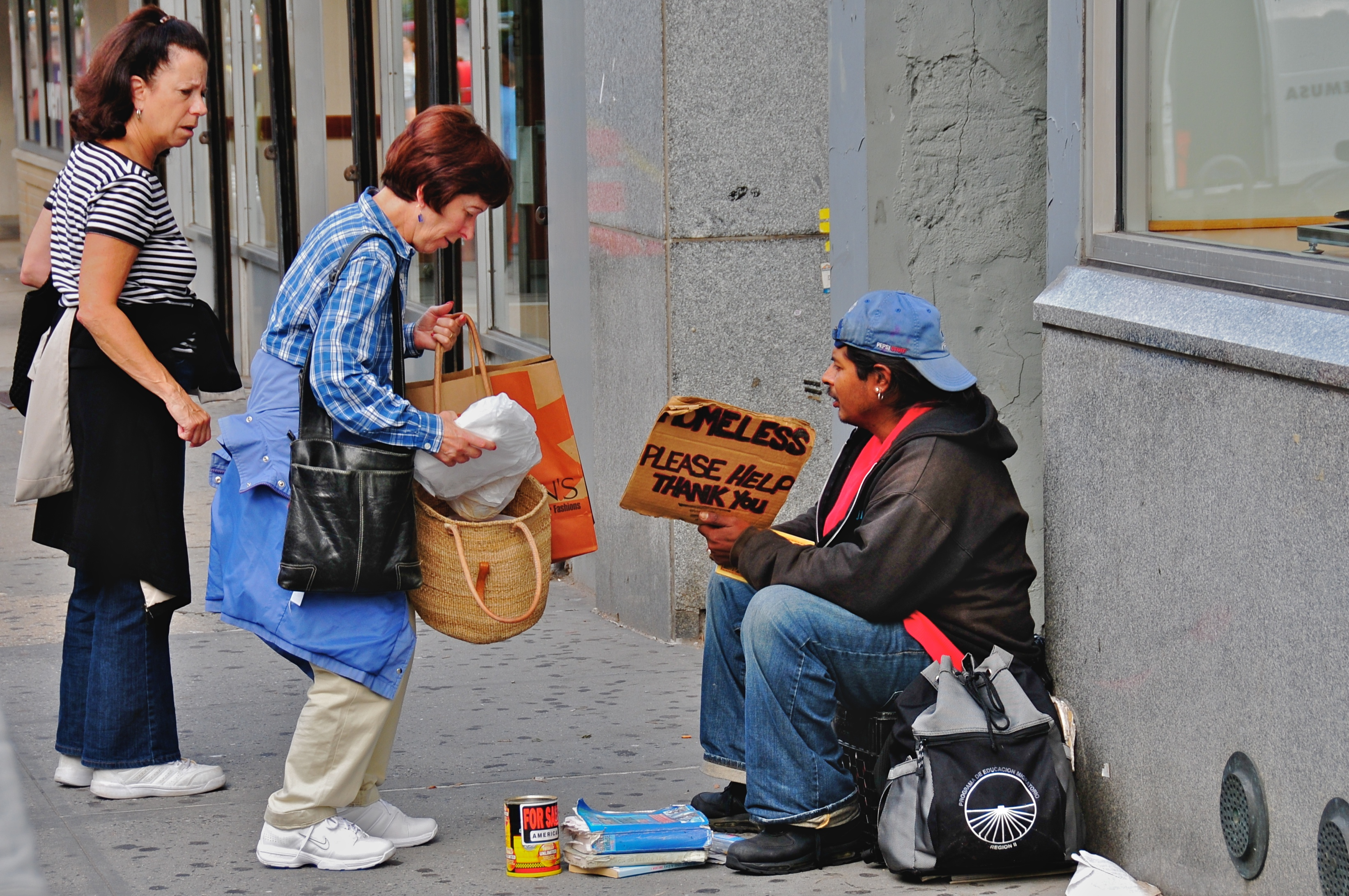file:helping the homeless - wikimedia commons