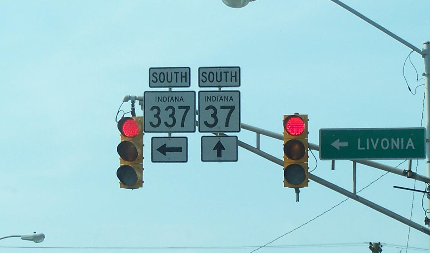 Fileindiana State Road 337 Turns Left In Livonia Wikimedia Traffic Light Diagram