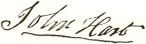 John Hart Signature