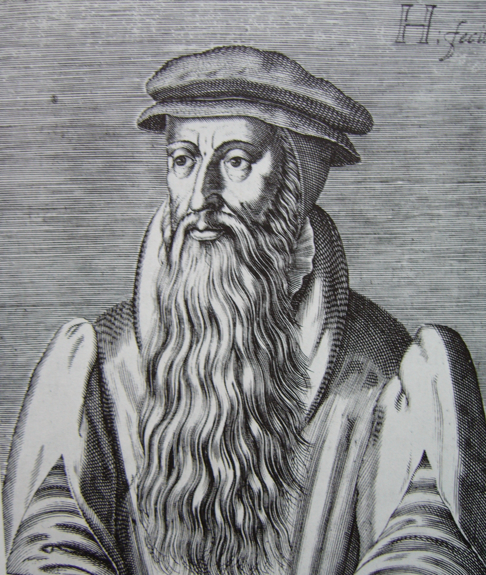 Woodcut of John Knox