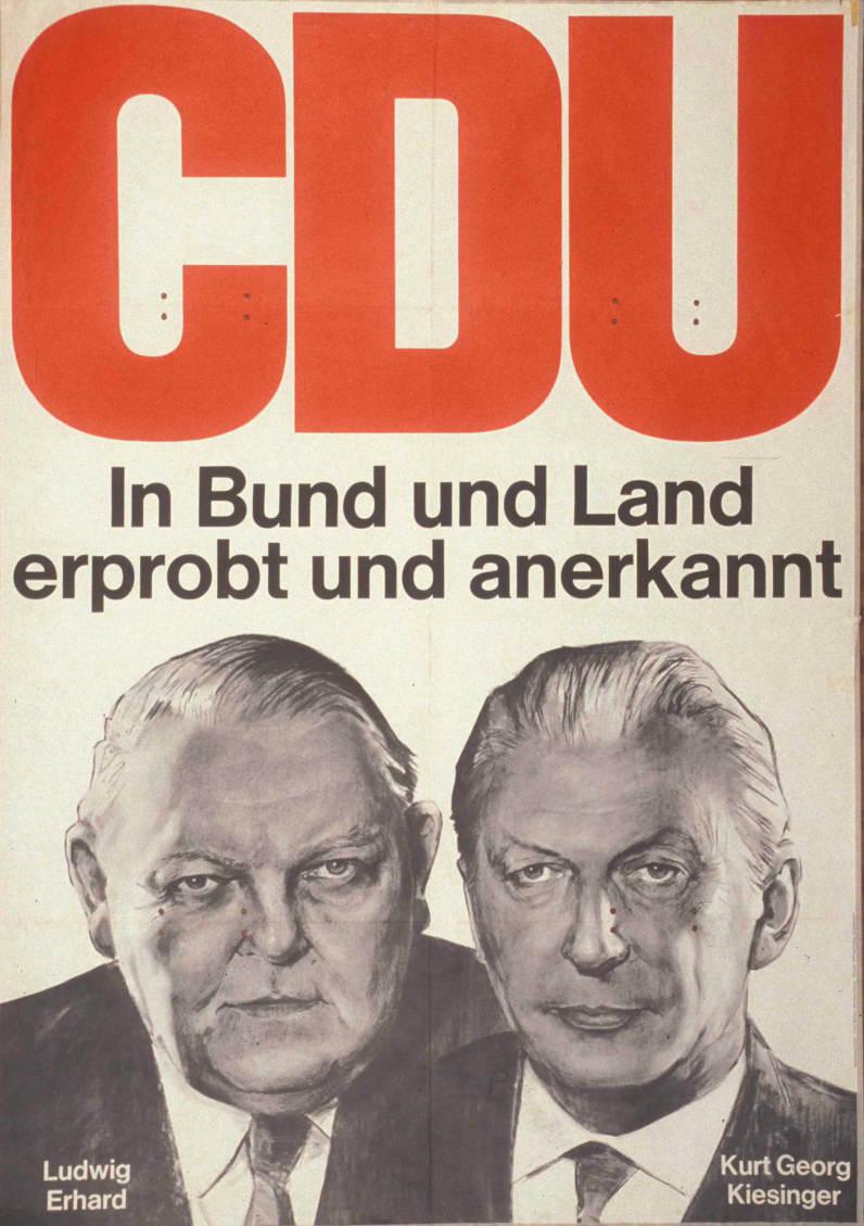 Kas Erhard C Ludwig Kiesinger C Kurt Georg Bild