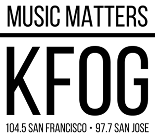 KFOG adult album alternative radio station in San Francisco