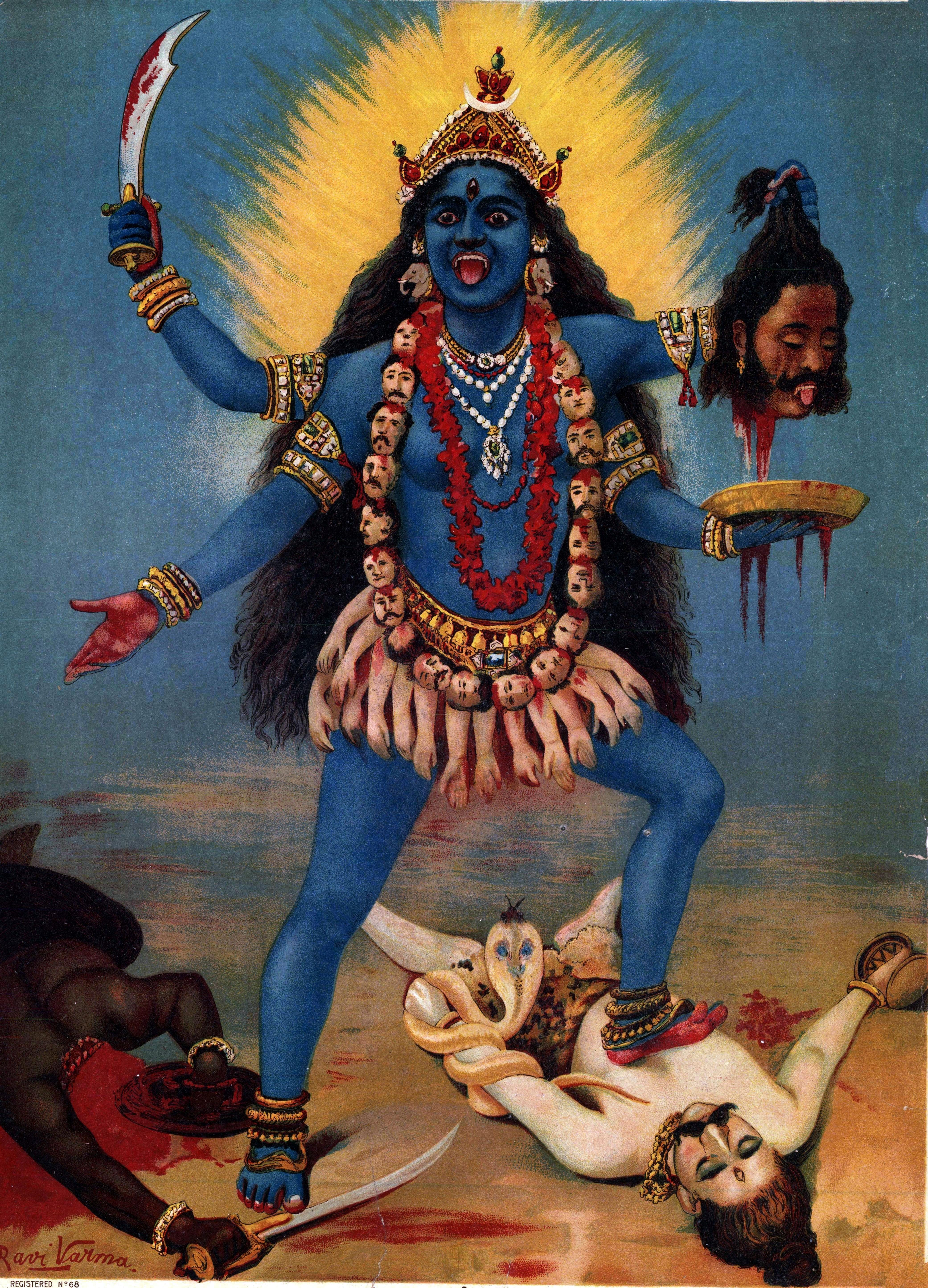 Kali_by_Raja_Ravi_Varma.jpg (394×549)
