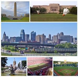 English: A montage of Kansas City
