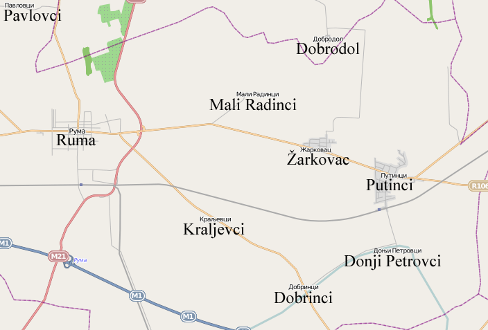 selo lisovici srbija mapa Donji Petrovci   Wikipedia selo lisovici srbija mapa