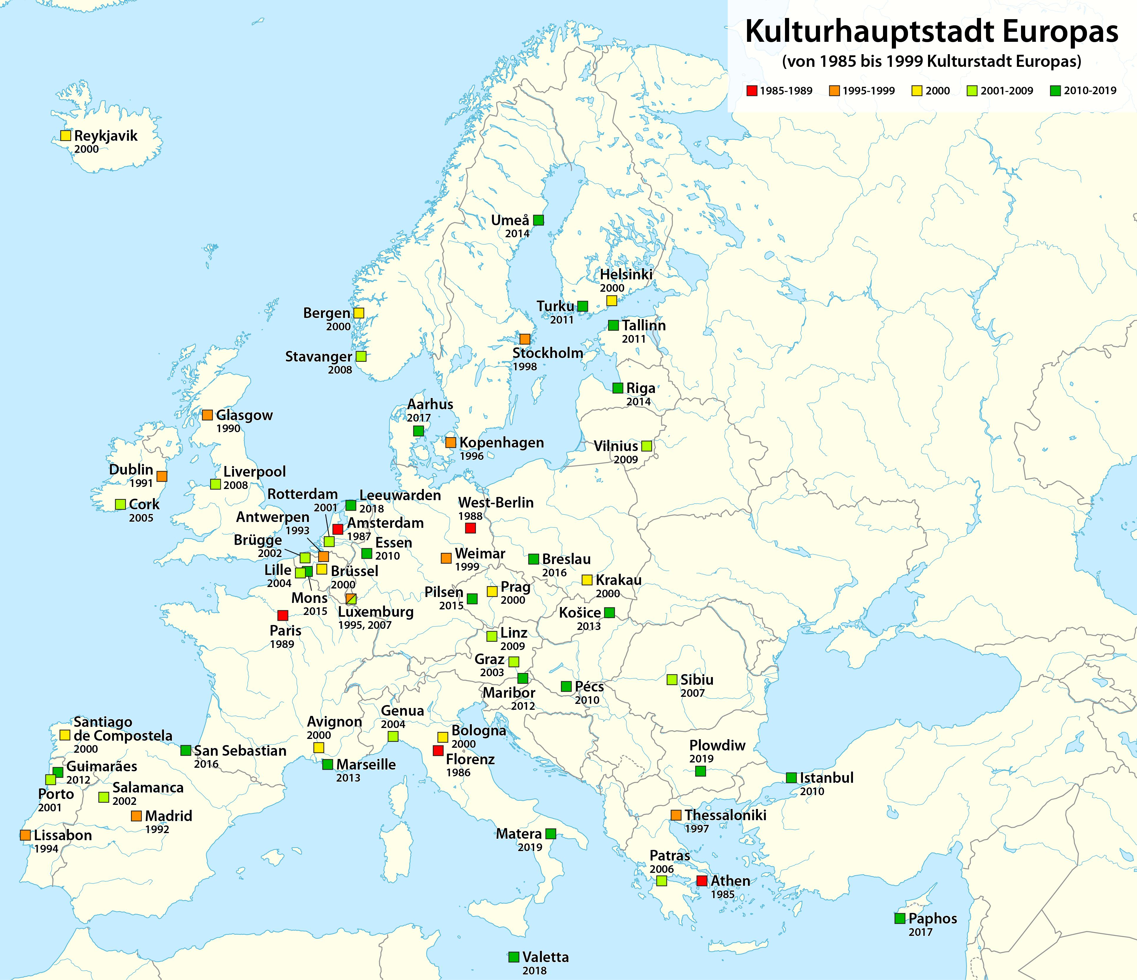 Depiction of Capital Europea de la Cultura