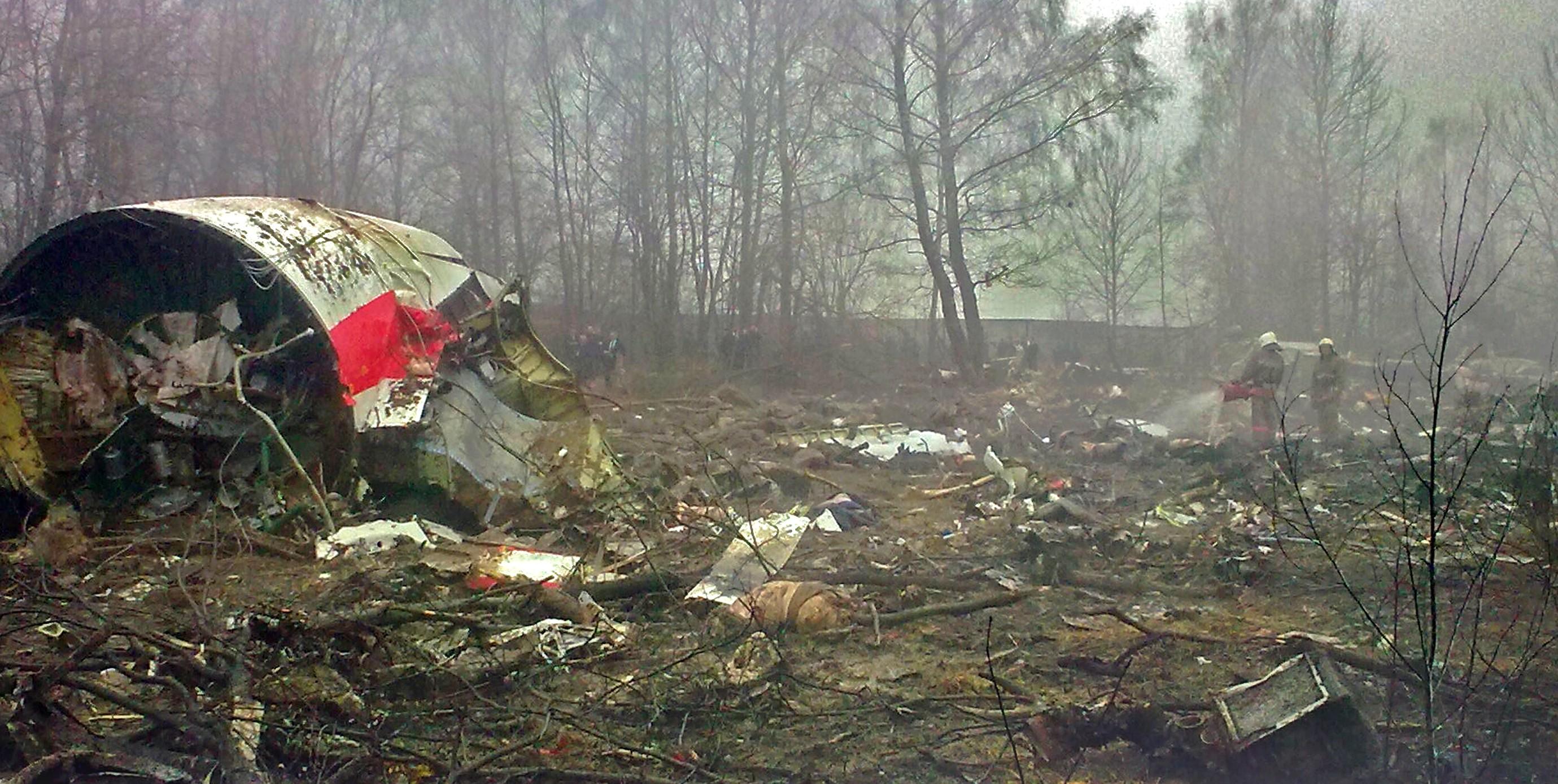 3808ff5154dd7f Katastrofa polskiego Tu-154 w Smoleńsku – Wikipedia, wolna encyklopedia