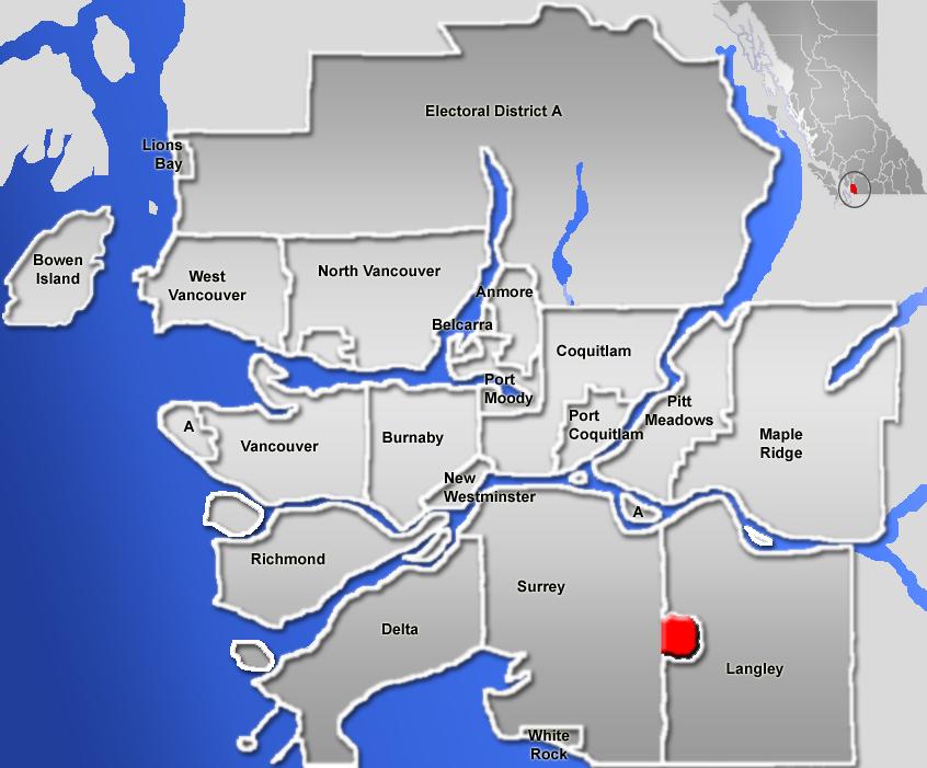 Langley British Columbia Canada Map File:Langley, British Columbia (city) Location.png   Wikimedia Commons