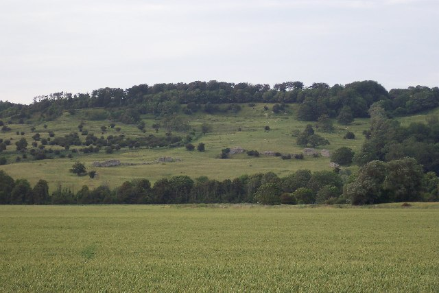 Lemanis Roman Fort, Lympne, Kent - geograph.org.uk - 41700