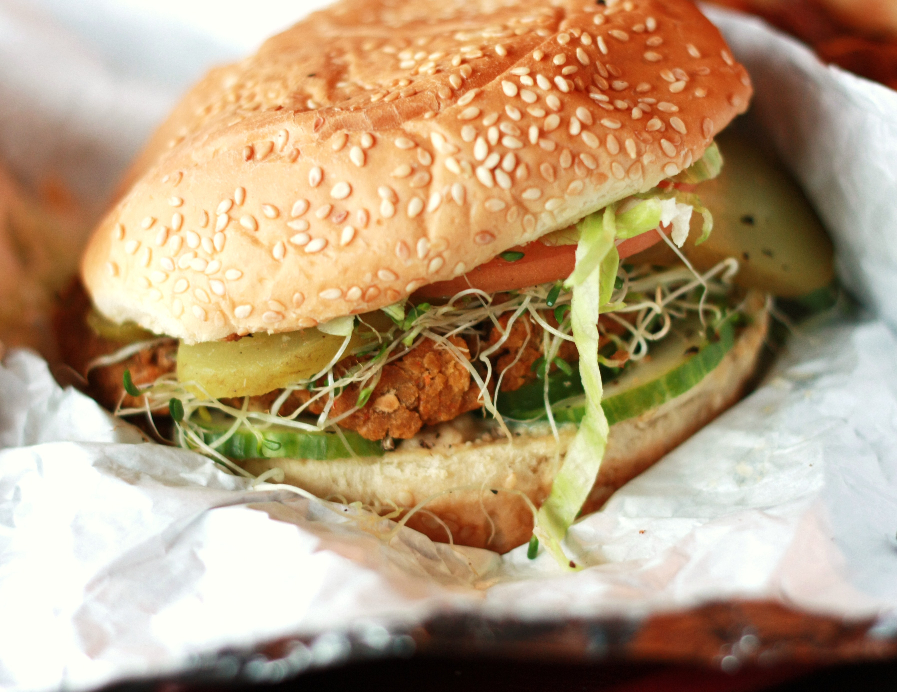 Gourmet Vegetarian Burger Restaurants