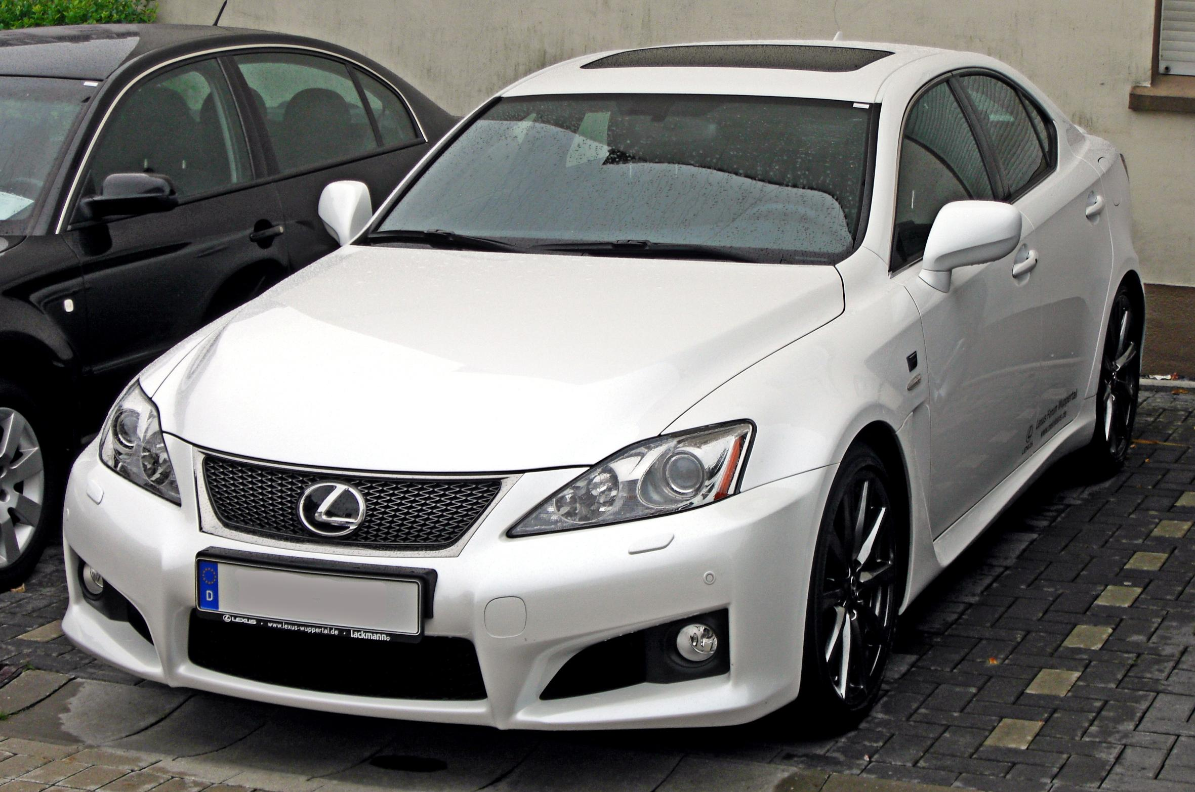 File lexus is f front jpg