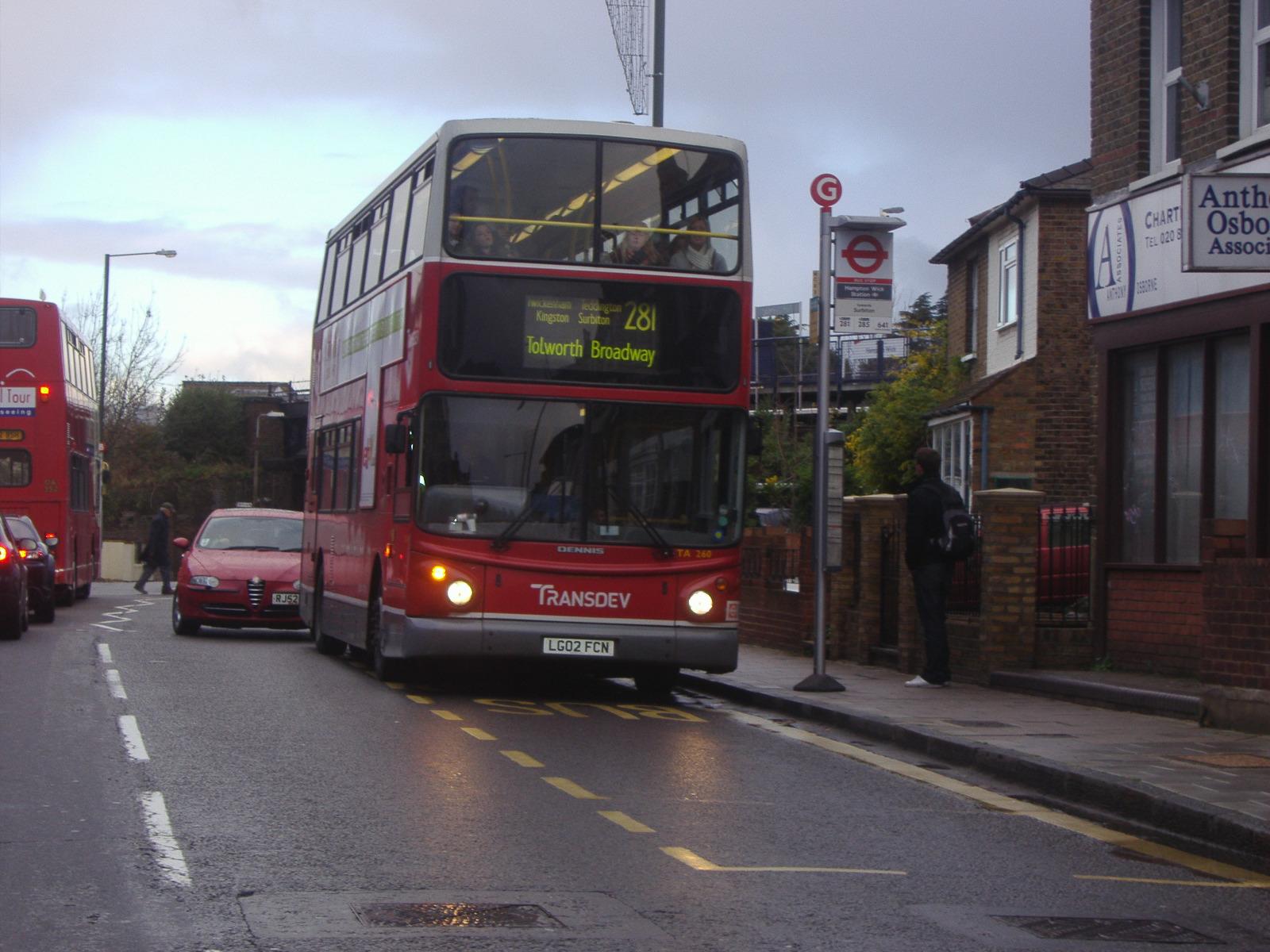 File:London Buses route 281 Hampton Wick jpg - Wikimedia Commons
