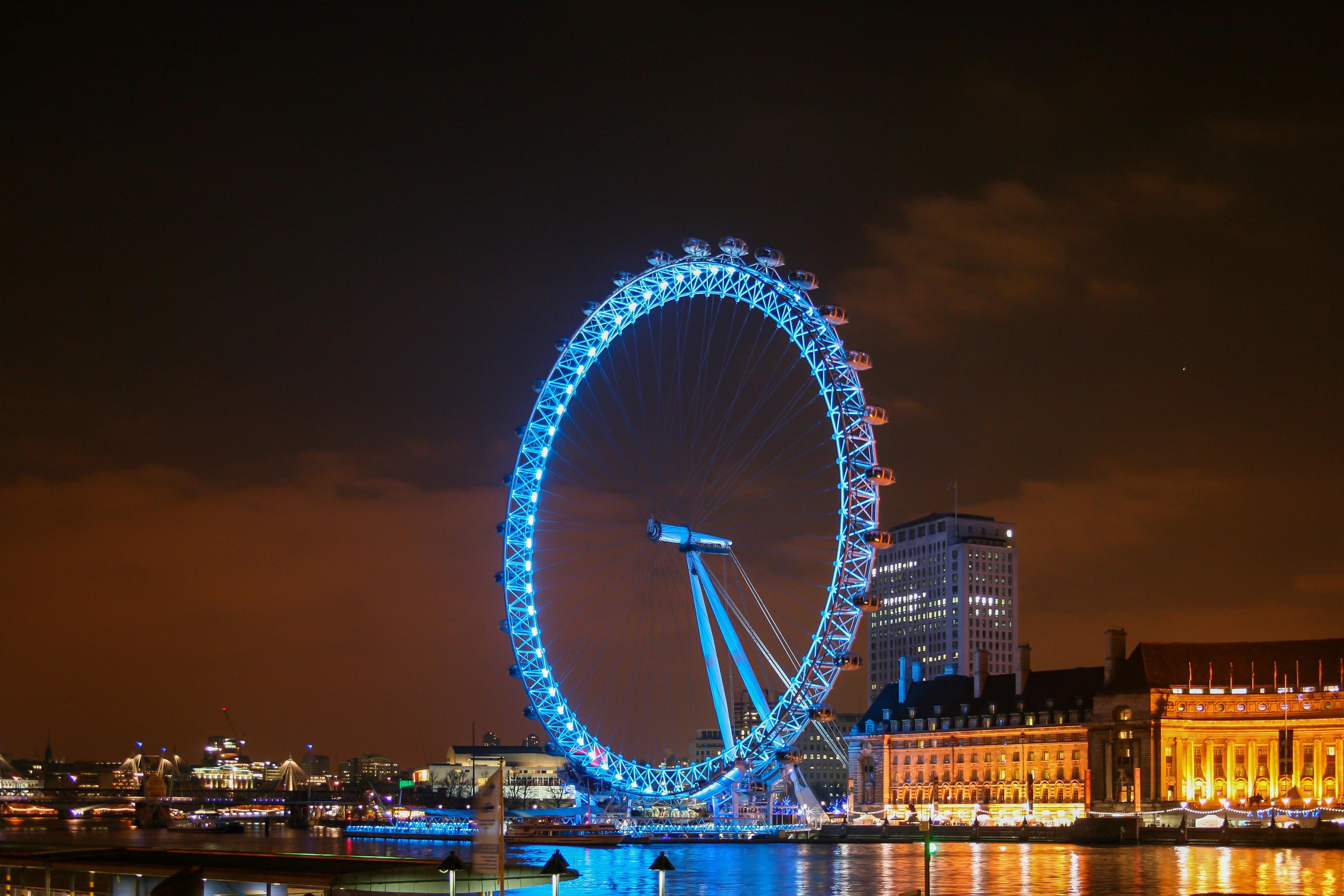 london eye by night - photo #2