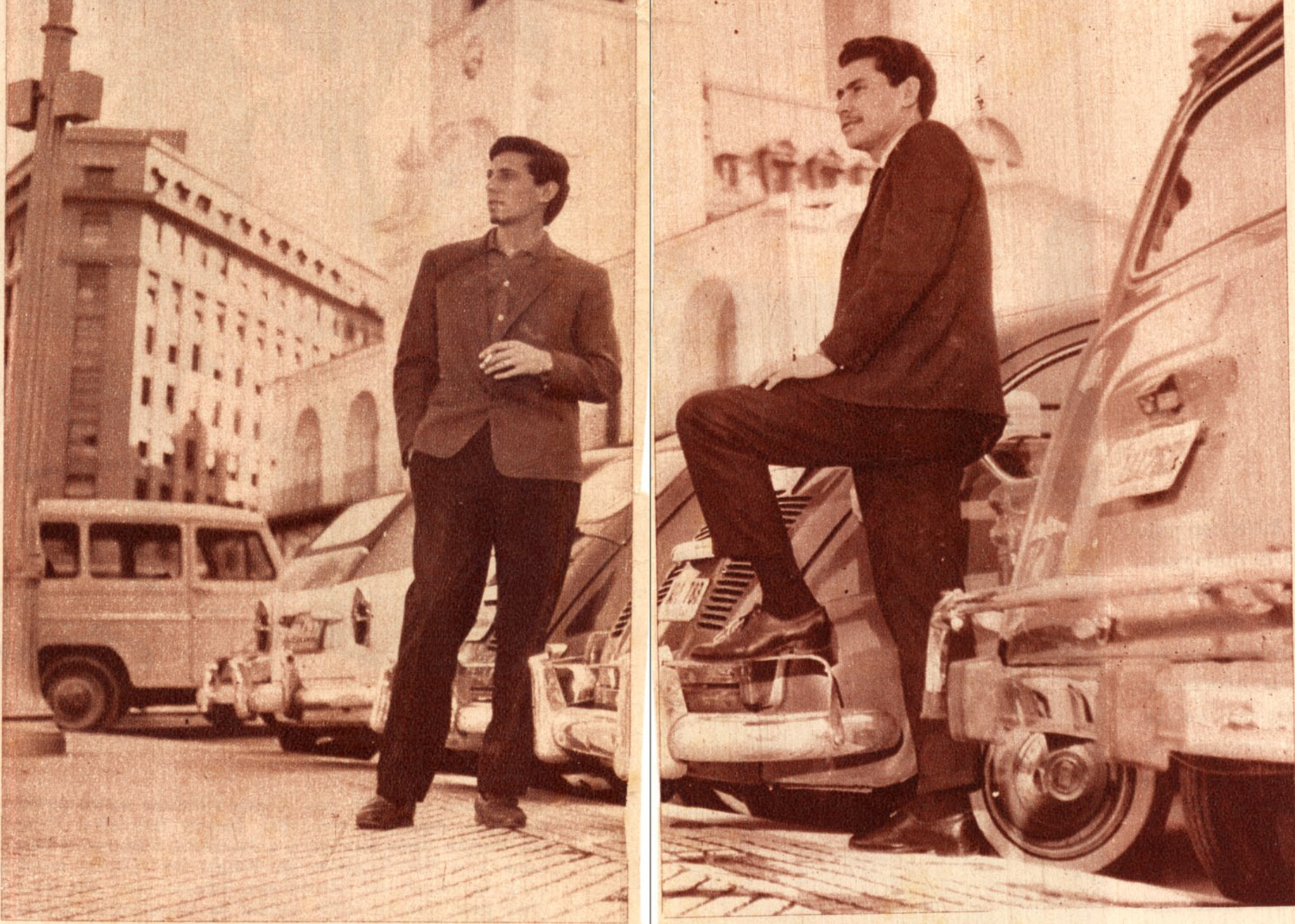 Los Olimareños en 1965.