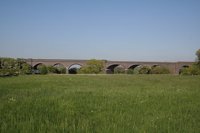 Loughborough Viaduct - geograph.org.uk - 422815