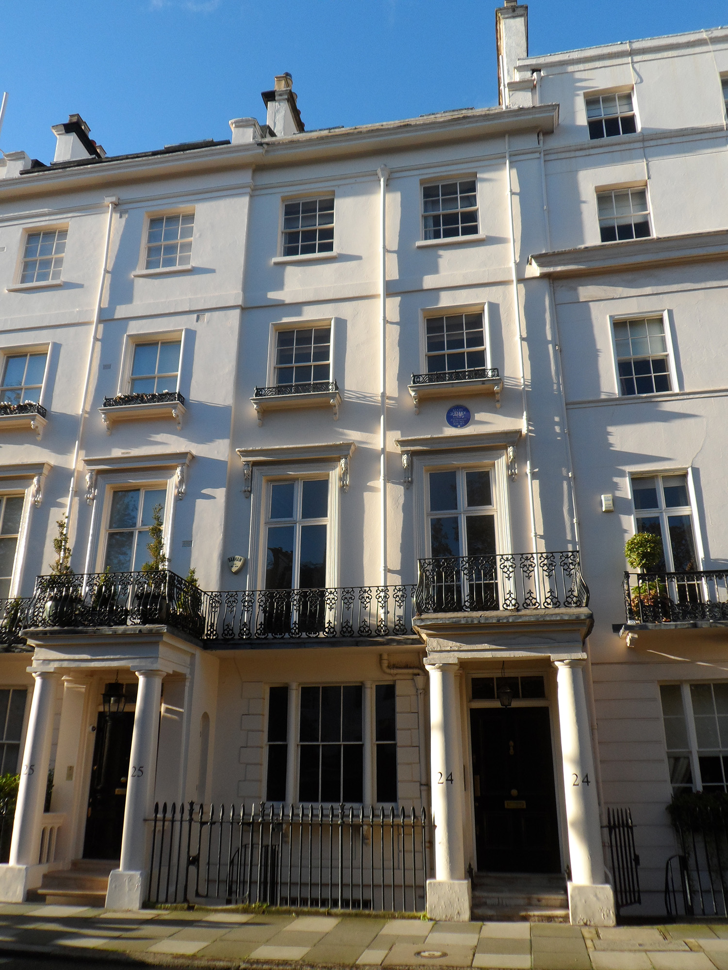 File:MARY SHELLEY - 24 Chester Square, Belgravia, London ...