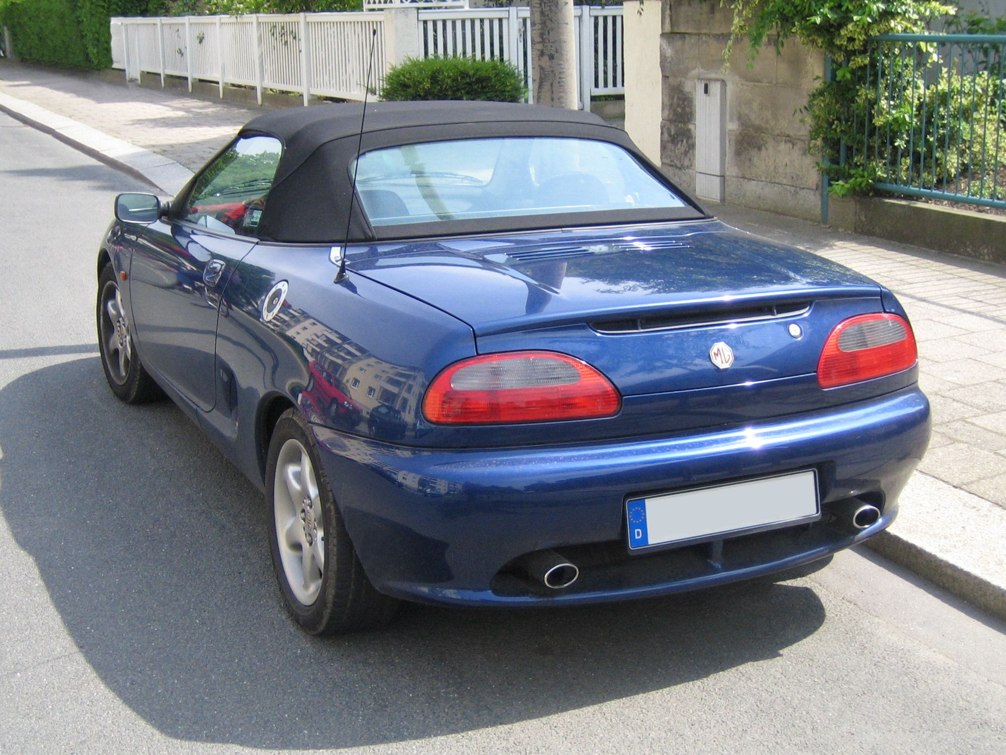 Filemg tf blue rearg wikimedia commons filemg tf blue rearg vanachro Gallery