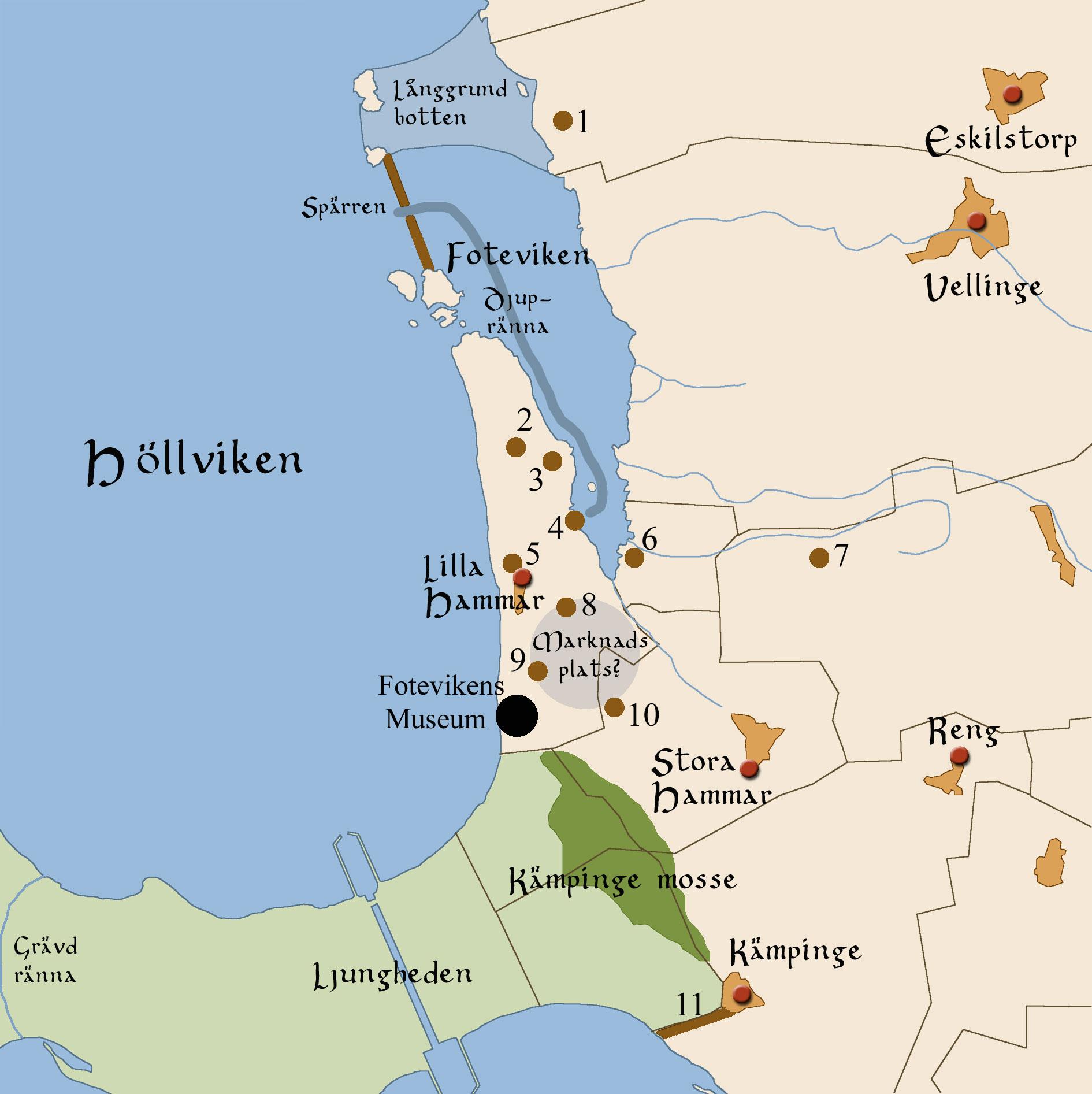 FileMap Of Foteviken In Scania Swedenjpg Wikimedia Commons - Sweden map jpg