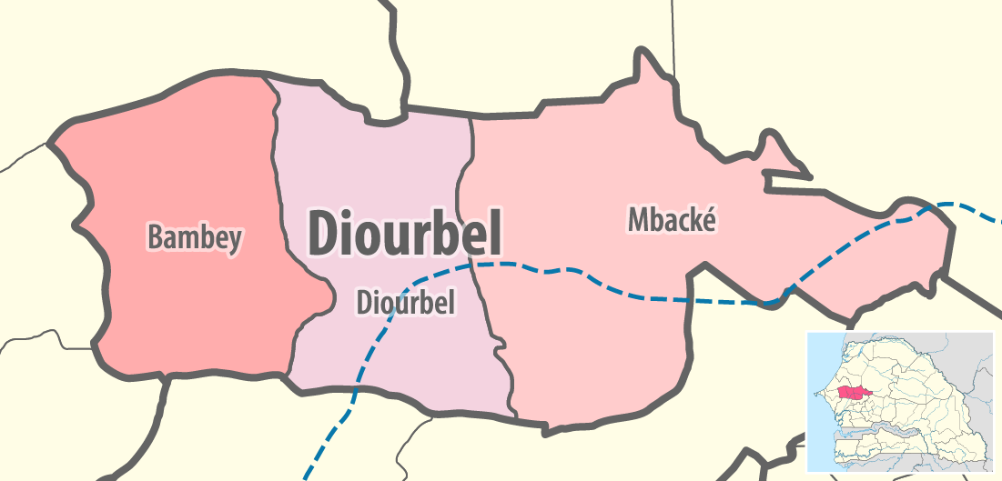 FileMap of the departments of the Diourbel region of Senegalpng