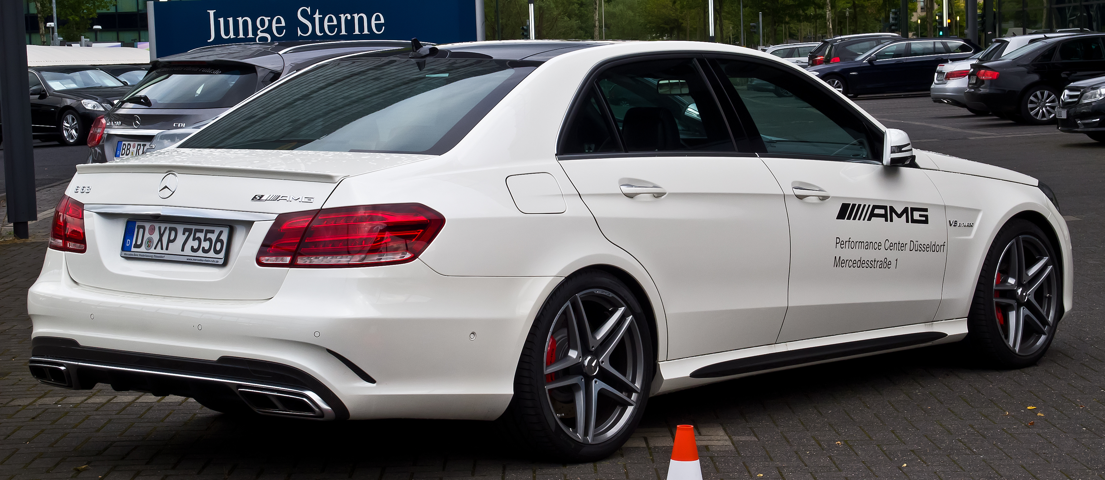 Mercedes C Matic  White