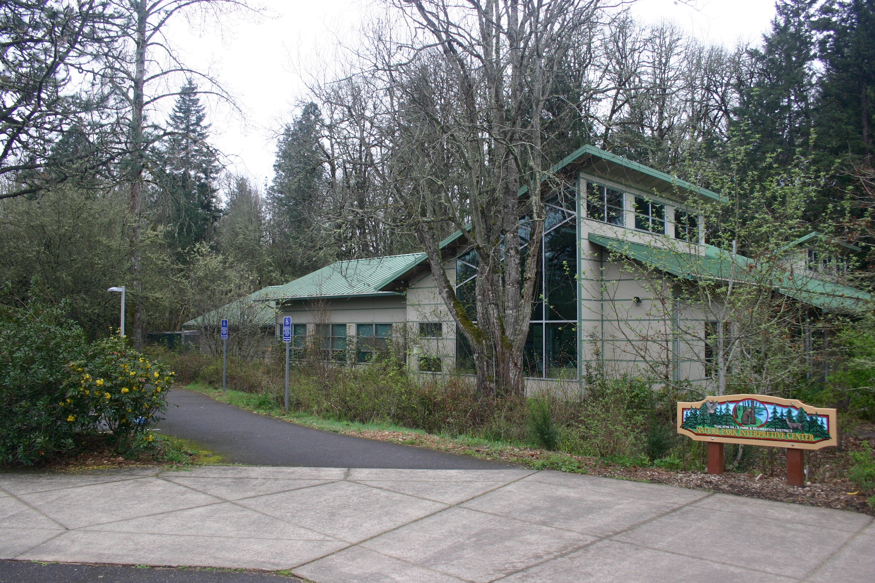 Nature Park Interpretive Center Beaverton Or