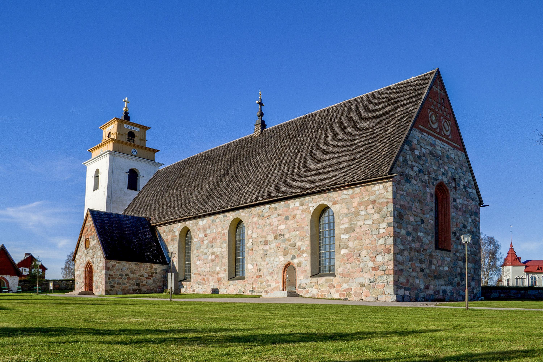 Bild av Nederluleå kyrka