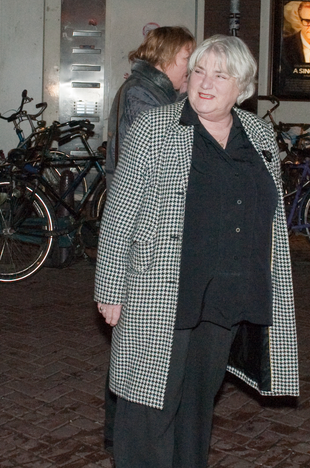 The 82-year old daughter of father (?) and mother(?) Nelly Frijda in 2018 photo. Nelly Frijda earned a  million dollar salary - leaving the net worth at 3 million in 2018