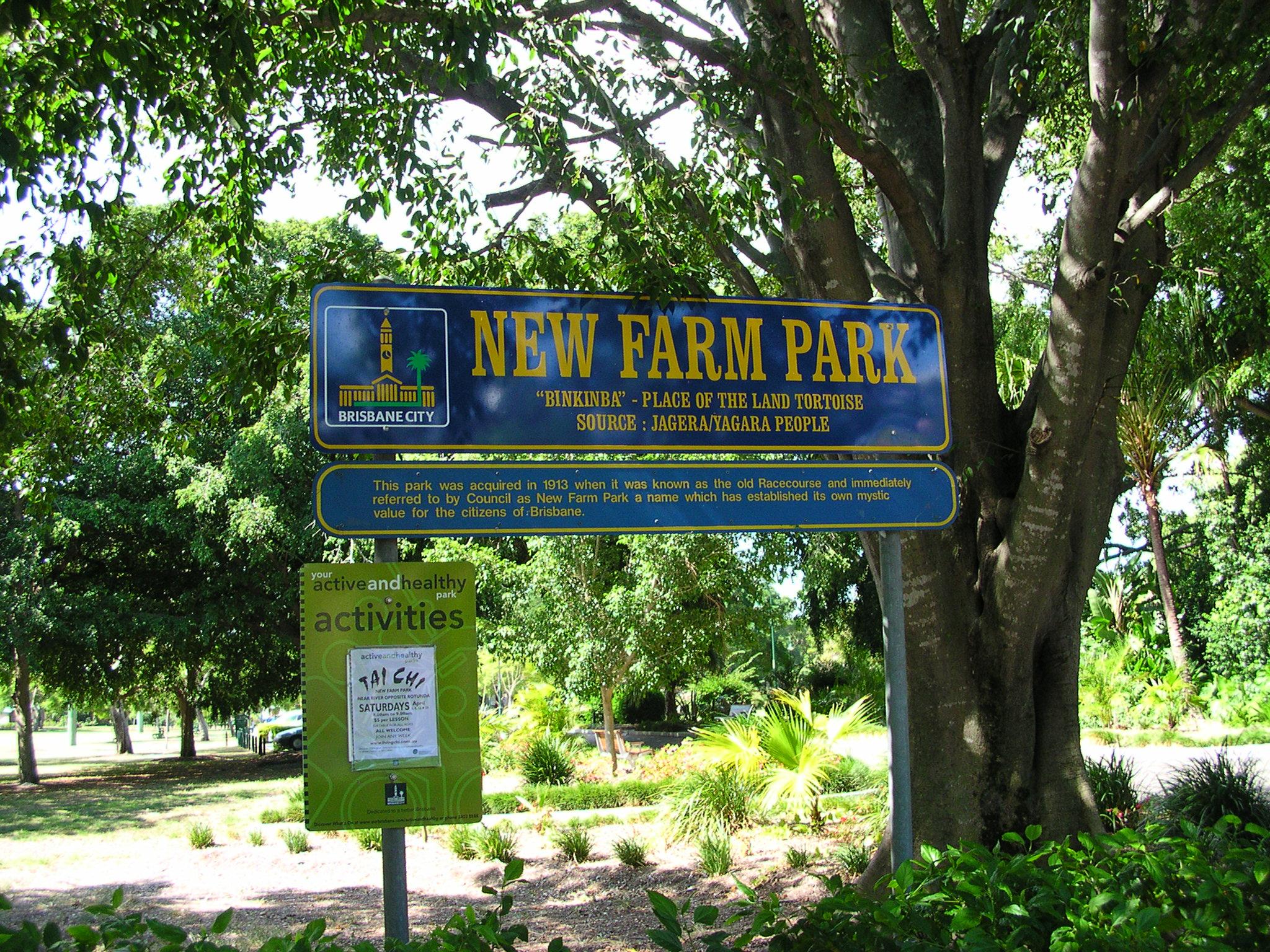 New Farm Park Photos New Farm Park Sign.jpg