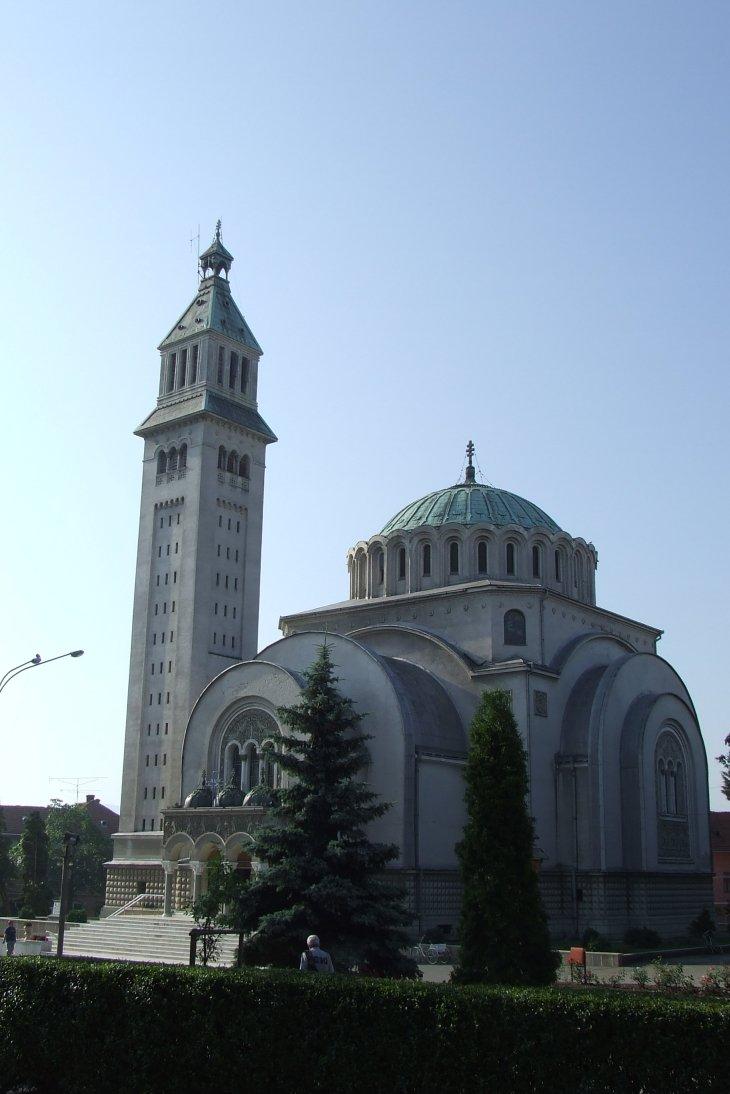 Fişier:Orthodox cathedral Orastie.JPG